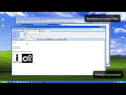FAQ: Podpis w Outlook 2003 / Podpis w wiadomości.