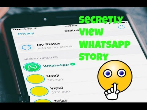 How To See WhatsApp Status Without Knowing Them | Secretly View Story/Status Urdu/Hindi