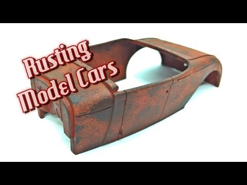 Rusting Model Cars - Part 1- The Rusty Base