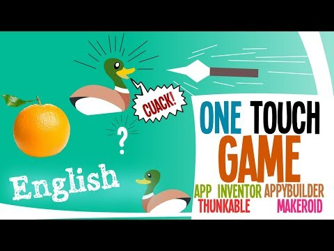Learn App inventor tutorial  build a one touch game app | android game tutorial | azaotl