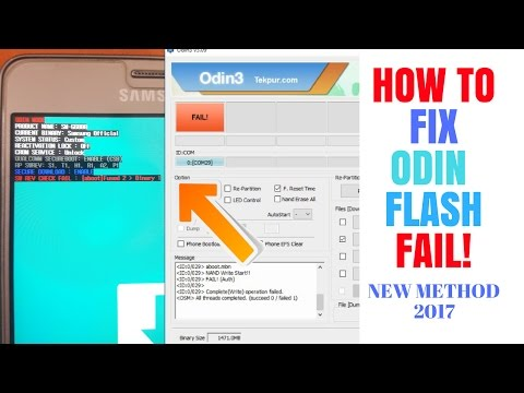 New Method How To Fix Sw Rev Check Fail Fused 2 Binary 1 Odin Flash