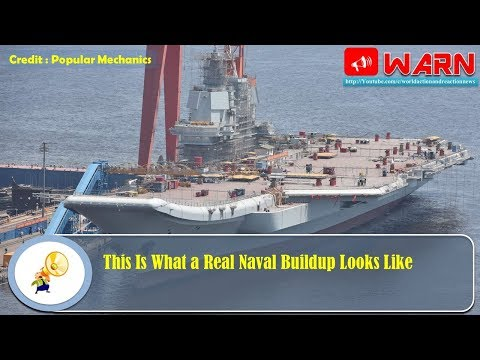 This Is What a Real Naval Buildup Looks Like
