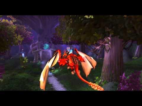 [ZT] Red Drake   - World of Warcraft Mount