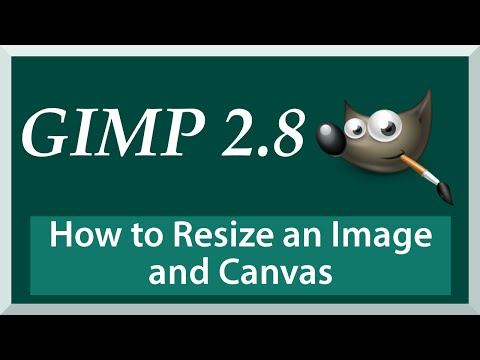 TUTORIAL: How to Resize an Image and Canvas | Gimp 2.8