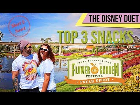 Best Food at Epcot's Flower & Garden Festival - 🌻 Under 5 Minutes