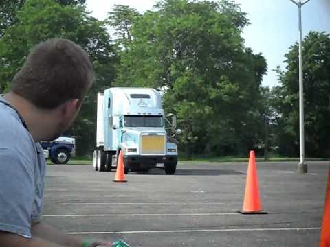 Driving Semi Truck