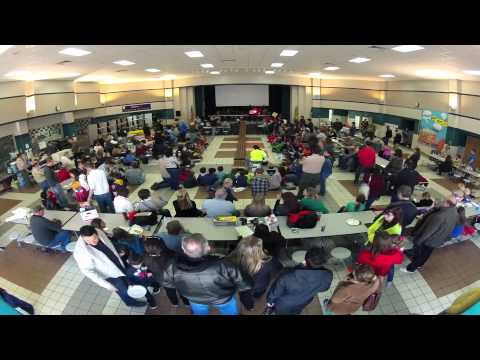 Cub Scout Pack 1179 - Timelapse of Pinewood Derby Race