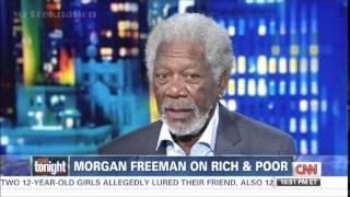 Morgan Freeman - The Roll Race & Gentics Plays In Wealth - CNN