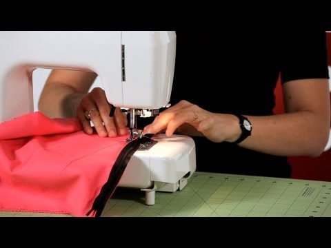 How to Sew an Invisible Zipper | Sewing Machine