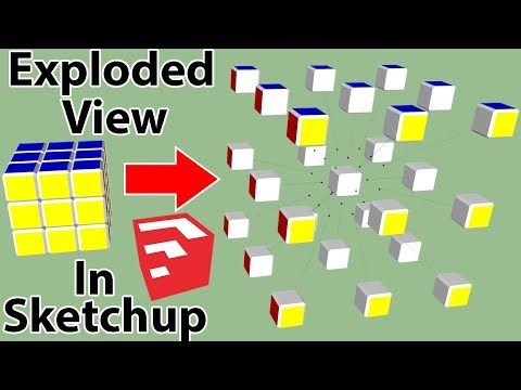 Exploded View Animation in SketchUp