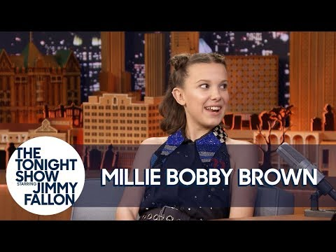 Millie Bobby Brown Gets Goosebumps from Her Season 2 Stranger Things Kiss