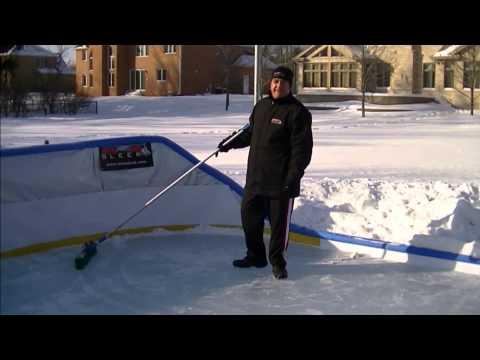 Backyard Ice Rink Maintenance by Iron Sleek