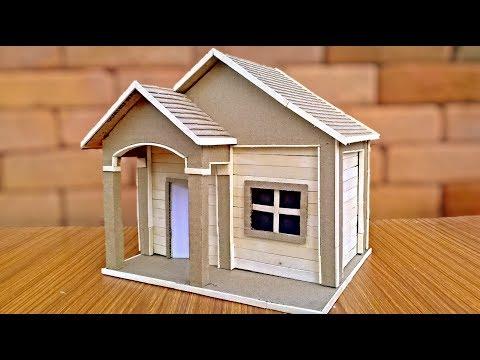 How to make Cardboard house easily