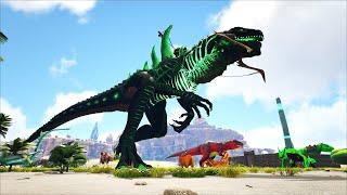 ARK: Crystal Isles #16 - Mình Đã Chế Tạo Thành Công Yên Cưỡi Godzillark, Sức Mạnh Không Tưởng 😱