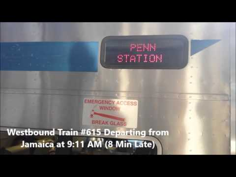 LIRR- My Journey on Westbound Train #615 from Stony Brook- Jamaica & 2710 @ Mass Park