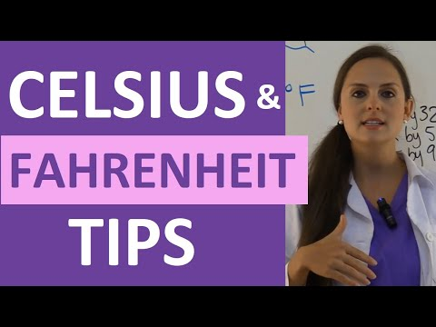 Celsius to Fahrenheit Conversion Formula for NCLEX Exam Quick and Easy