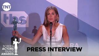 Jennifer Aniston: Press Interview | 26th Annual SAG Awards | TNT
