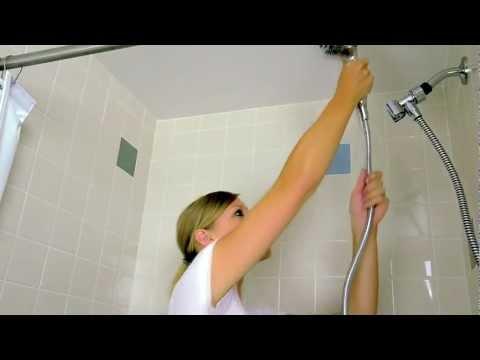 Hand Held Shower Installation -- Waterpik Twin Turbo