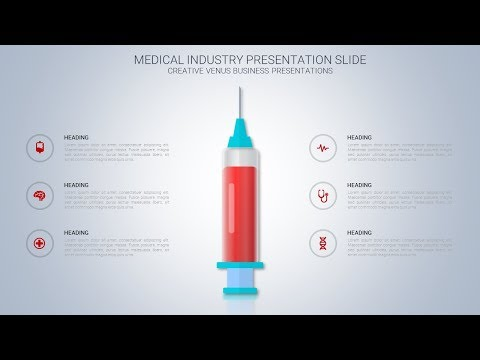 How To Create Medical Industry Presentation Slide Infographic in Microsoft Office365 PowerPoint PPT