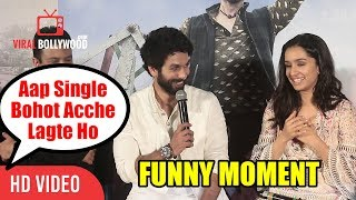 Batti Gul Meter Chalu Trailer Launch | Funny Moment | Shahid Aap Single Bohot Acche Lagte Hai