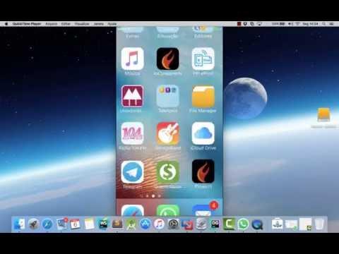 Espelhamento IPHONE no MAC utilizando QUICKTIME