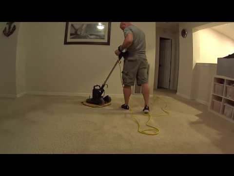 After stretch follow up carpet cleaning VLOG Television