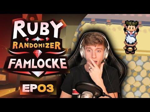 THE FIRST GYM! | Pokemon Ruby Randomizer Famlocke EP 3