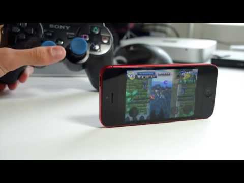 Using PS3 Controller To Play Games On iPhone, iPad, iPod touch