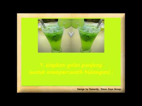 Resep Cara Membuat Minuman Es Serbat Melon