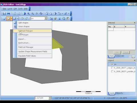 fGIS: Create a 'donut-hole' polygon