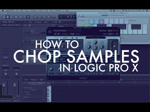 How to Chop Samples in Logic Pro X