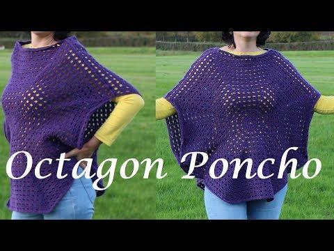 Crochet An Easy Octagon Poncho