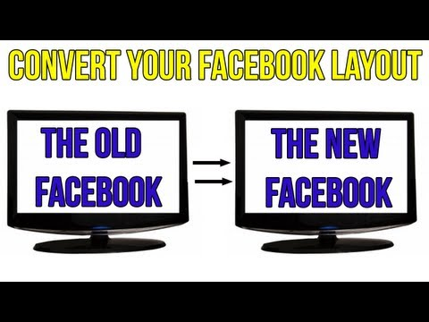 How to Get the New Facebook Layout