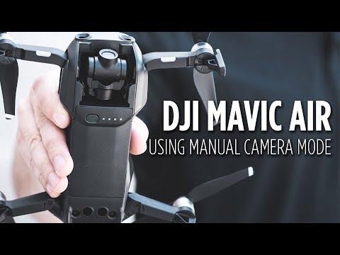 Using Manual Camera Mode on DJI Mavic Air
