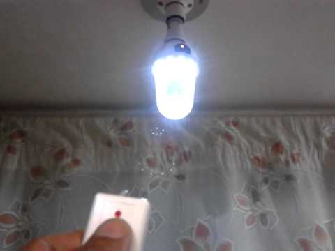 Remote Control LED Lamp and Emergency Light