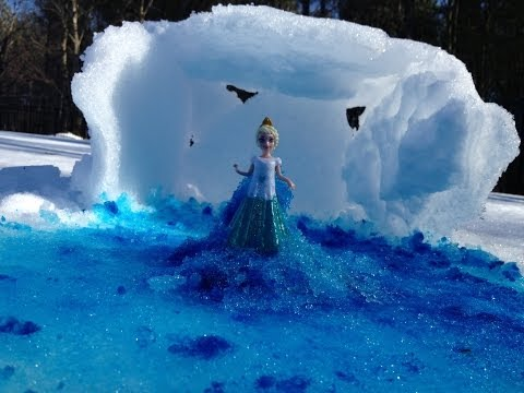 SNOW Tutorial How to Make the Movie Ice Palace from Snow Toys