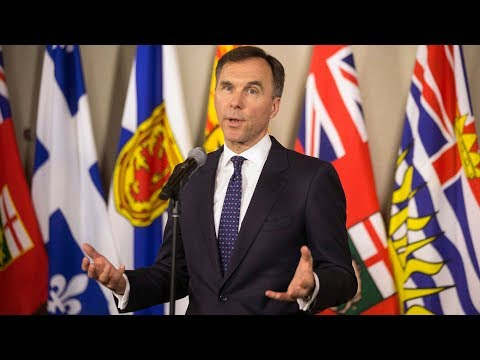 'This is federal jurisdiction': Morneau on pipeline project