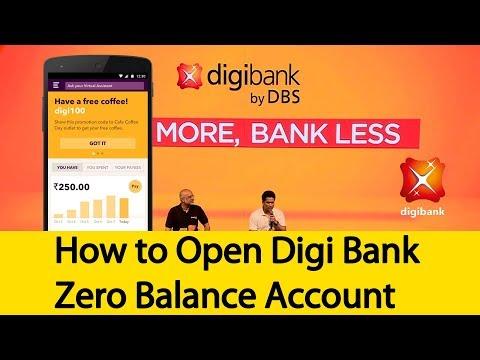How to Open Digi Bank Zero Balance Account | Tamil Banking