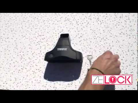 How To Remove a Thule Lock Core by ZeLock