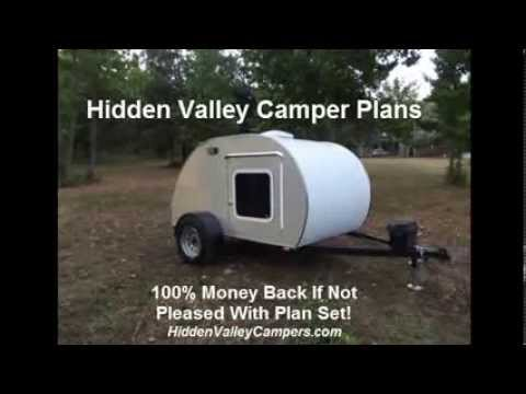 diy travel trailer