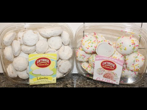 Lofthouse Delicious Cookies: Lemon Meltaway Cookies & Pink Velvet Cake Bites Review