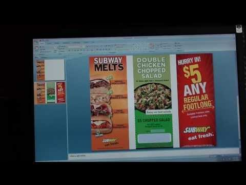 How to make 3 PDF flyers into one PDF flyer