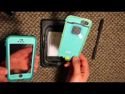 iPhone 5s Teal Lifeproof Unboxing