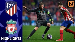 SPANNENDE STRIJD IN MADRID | Atlético Madrid vs Liverpool | Champions League 2019/20 | Samenvatting