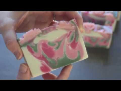 Mother's Garden Soap - Cutting