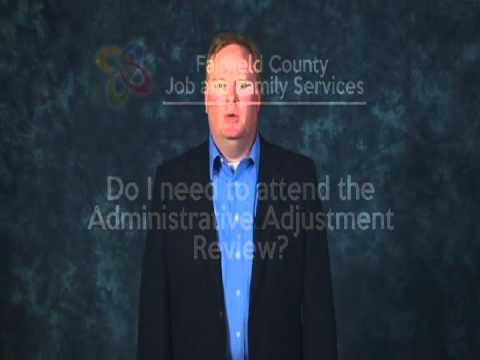 Child Support Administrative Adjustment Review