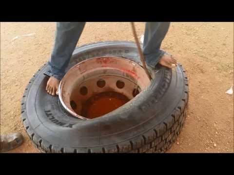 Tubeless Tire manual mounting