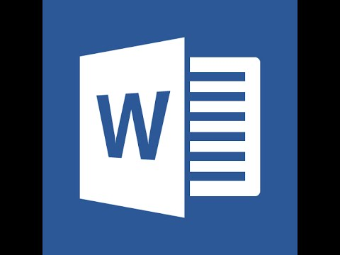 Microsoft Word 2016 Part 4 Layout Tab