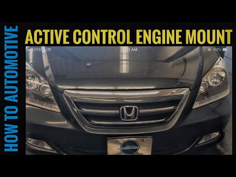 How to Replace the Front Active Control Engine Mount on a 2005-2010 Honda Odyssey