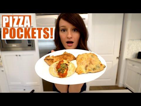 MAKING PIZZA POCKETS!